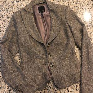 The Limited tweed blazer jacket Women's size 0